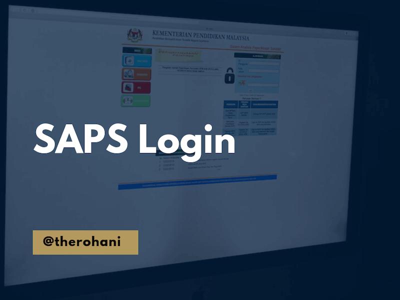 SAPS login 2018