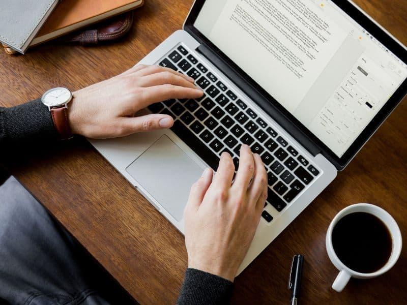 Cara buat resume online