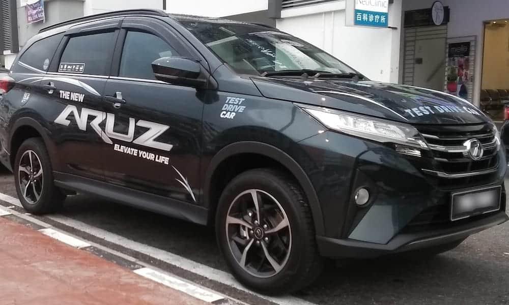 SUV Terbaik Perodua Aruz vs Proton X70