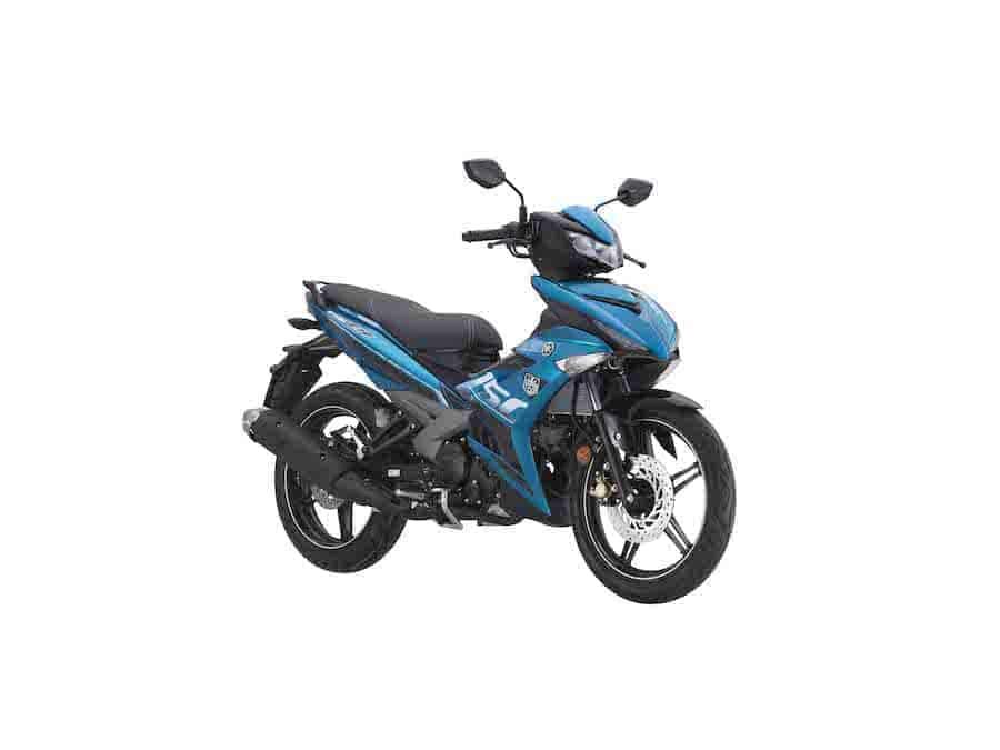 Yamaha Y15ZR Warna Cyan