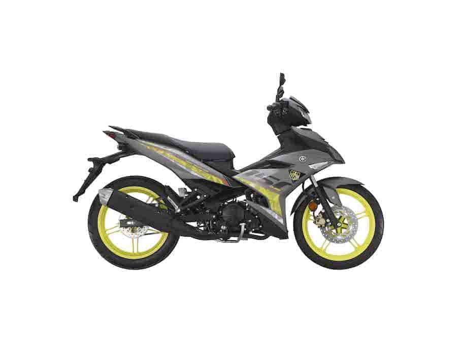 Yamaha Y15ZR Warna Kuning